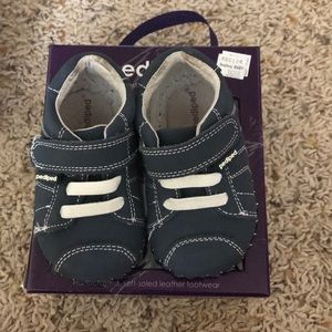 Navy blue Pediped shoes